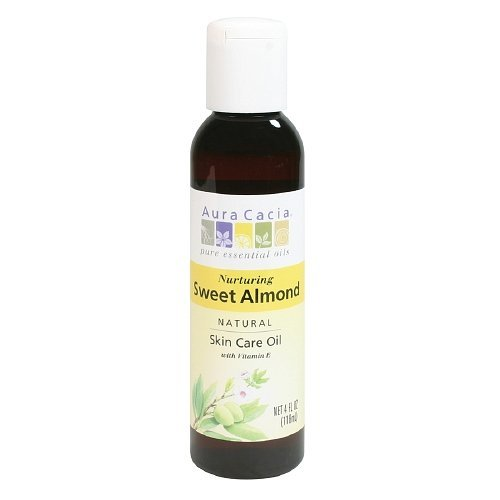 Aura Cacia Sweet Almond Oil 120 ml by Aura Cacia