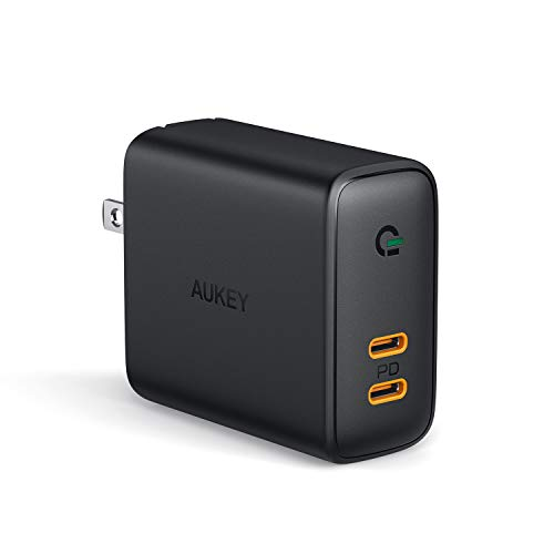 AUKEY USB C Charger 36W, PD Charger with Dynamic Detect & Power Delivery 3.0, Compatible with iPhone Xs/XS Max/XR, Google Pixel 3 / 3XL, MacBook, and More