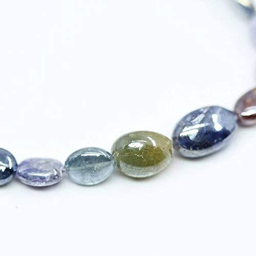 Beads Bazar Natural Beautiful jewellery Natural Mystic Multi Gemstone Gemstone Smooth Oval Gemstone Loose Craft Beads Strand 4