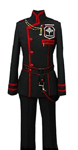 CosplayerWorld D.Gray-man Allen Walker Costume Deluxe Cosplay Outfit -
