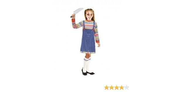 Disfraz Muñeca Asesina para niña(10-12 años) Halloween 20072 ...
