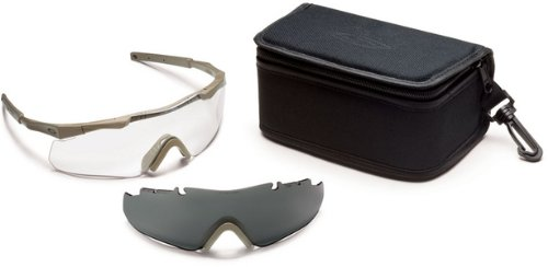 1. Smith Optics Elite Aegis Arc Compact Eyeshield Field Kit