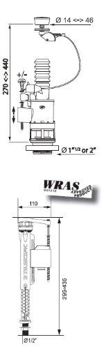 Wirquin Kit de fixation universelle