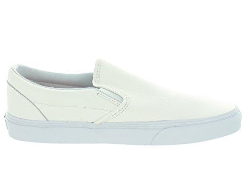 Bestelwagen Unisex Classic Instapper (premium Leer) Skate Schoen True White / Mono