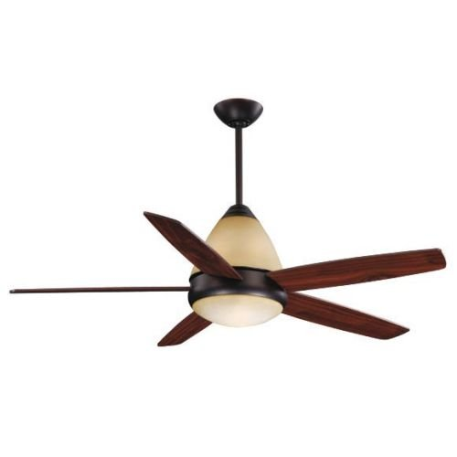 Vaxcel FN52238OBB Fresco II Dual Mount Ceiling Fan, 52