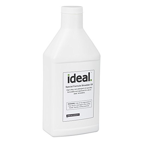 Special High-Cling Lubricating Oil for ideal. Shredders: 6 Bottles, 1 Quart Each by ideal.