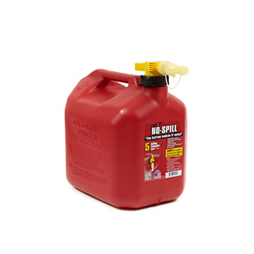No-Spill 1450 5-Gallon Poly Gas Can (CARB Compliant)