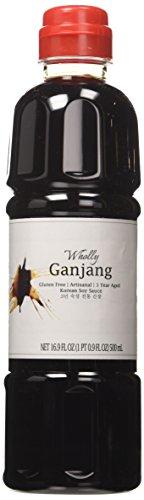 Wholly Ganjang, Premium Gluten-free Unpasteurized Artisanal 3 Year Aged Korean Soy Sauce (16.90 fl oz) (Korean Soy Sauce compare prices)