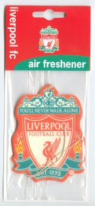 [해외]공식 리버풀 FC. /Official Liverpool F.C. Air Freshener