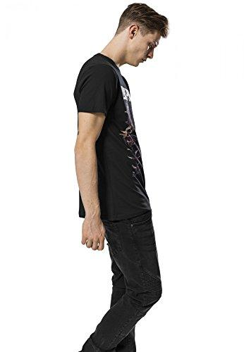 Mister Tee Herren Oberteile / T-Shirt Linkin Park Heart schwarz XL