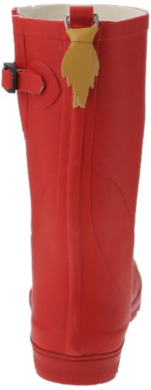 Aigle Woodypop, Unisex Kids'  Rain Boots, Red (Cerise), 1 Child UK (33 EU)