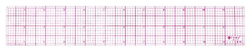Westcott Lettercraft Transparent 12'' 8ths Beveled Ruler, Case Of 144 (500-B-70) by Westcott