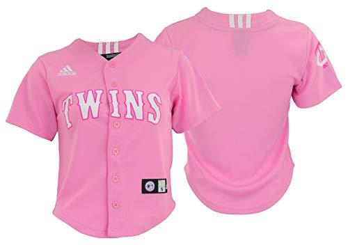 ns MLB Big Girls Performance Fashion Jersey, Pink XL 16 ()