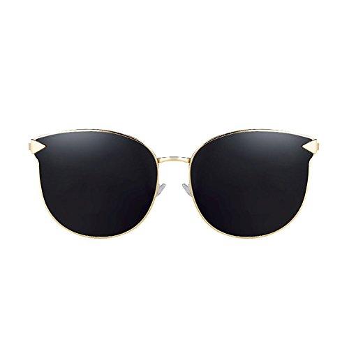 UV Protección Vintage de Redondas Gafas Gafas 1 de Sol de DT Color de Harajuku Mujer 2 Sol Gafas q6wOHxU