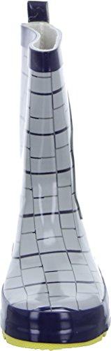 Leomil Kindergummistiefel Minions Grau Blau UPOFR