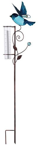 Sunset Vista Designs Bird Rain Gauge Stake 38
