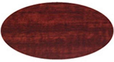 Modern 4 Door Storage Credenza Cabinet with Lock (72'' (Width) X 22'' (Depth) X 29.5'' (Height), Mahogany w/Black Pulls)