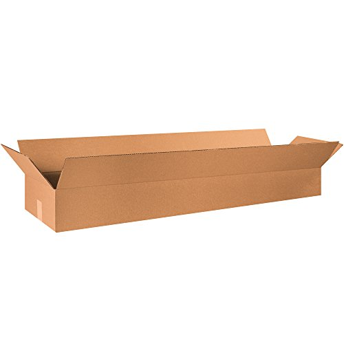 Box 48in (Partners Brand P48126 Long Corrugated Boxes, 48