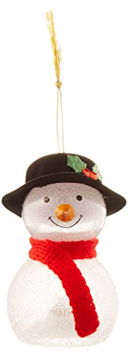 Lenox 862385  Crystal Ornaments Wonderball Snowman Top Knit Hat ()