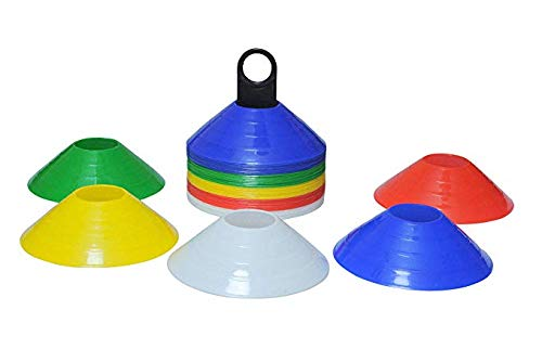 Pepup Multipurpose Saucer Cone Markers with Plastic Stand (Set of 50), 8