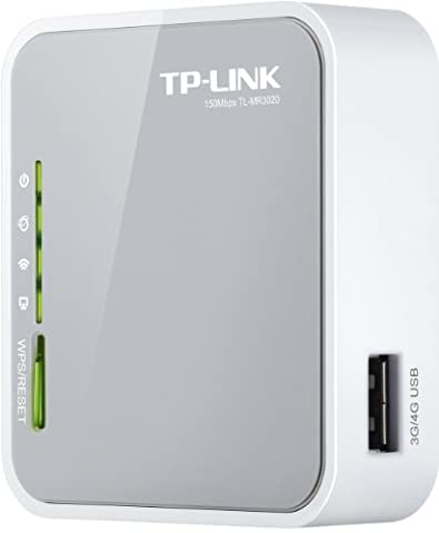 TP-Link N150 Wireless 3G/4G Portable Router with Access Point/WISP/Router Modes (TL-MR3020) (Kindle Audio Ap)