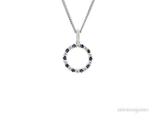 Cercle de vie-Collier Femme-Saphir