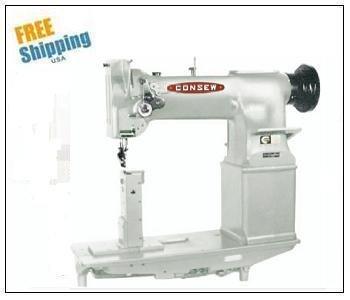 (Consew 228R-11 Single Needle Heavy Duty, High Speed, Post Type Lockstitch Sewing Machine)