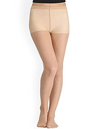 448169c7e89a0 Wetex Premium Sheer Silky Beige Pantyhose Stockings: Amazon.in: Clothing &  Accessories