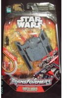 Star Wars 30th Anniversary Saga 2007 Transformers Action Figure Darth Vader to TIE Advanced