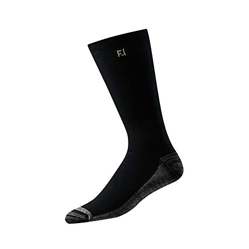 - FootJoy Men's ProDry Crew Socks Black Size 7-12