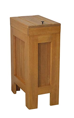 Wood Trash Bin Kitchen Trash Can Wood Trash Can Cabinet Dog