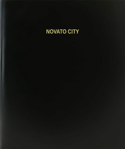 BookFactory® Novato City Log Book / Journal / Logbook - 120 Page, 8.5