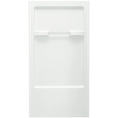 Sterling 62022100-0 Advantage 2-7/8-Inch x 36-Inch x 66-1/4-Inch Direct-to-Stud Shower Back Wall in White, 1-Piece