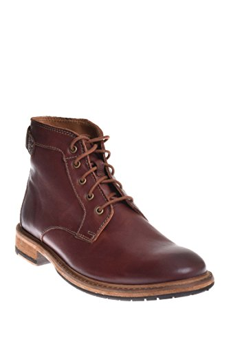 Clarks Mens Clarkdale Bud Mahogany Leather Boot - 10.5