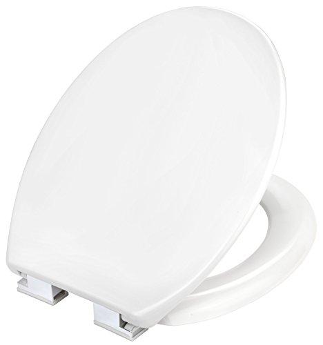 Cornat TAROX 2.0 WC-Sitz mit Absenkautomatik, Duroplast, verchromte Scharniere, weiß, KSTASCOH00