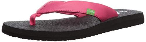 Sanuk Women's Yoga Mat Daily Flip-Flop, Watermelon, 09 M US (Sanuk Yoga Mat Flip Flops Womens)