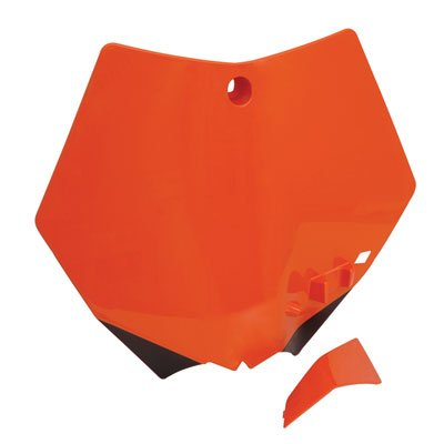 Acerbis Front Number Plate KTM Orange for KTM 505 XC-F 2008-2009