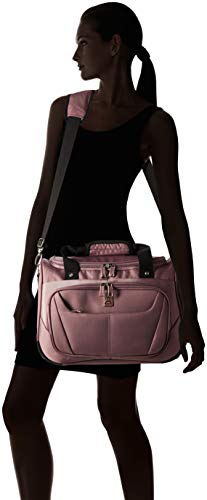 """Travelpro Luggage Maxlite 5 18"""" Lightweight Carry-on Under Seat Tote Travel, Dusty Rose, One Size"""