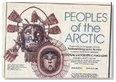 National Geographic Map - Peoples of the Arctic / Arctic Ocean - February 1983 (MAP ONLY)