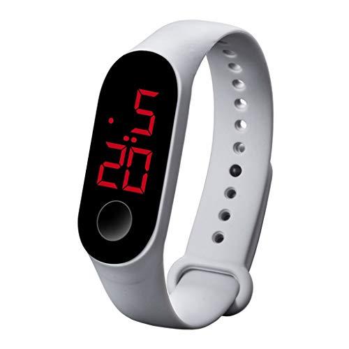 Watch, CUCAM LED sports fashion luminous sensor electronic watch men and women watches
