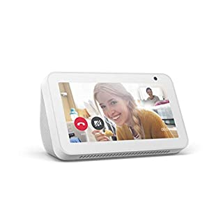 Echo Show 5 -- Smart display with Alexa – stay connected with video calling - Sandstone