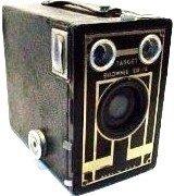 Vintage Kodak Brownie Target Six-16 Art Deco Box Camera *AS PICTURED*