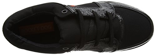 Rocket Black Zapatillas Negro Reagle black Para Dog Mujer pp1x7