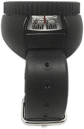 GYC Professionelle wasserdichte robuste Kunststoff-Tauchkompass-Uhr Taschengröße Outdoor Camping Wanderausrüstung Tragbares Abenteuer Überlebenszubehör