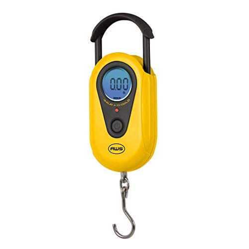 American Weigh Scales AMW-SR-20 Yellow Digital HanGinG Scale