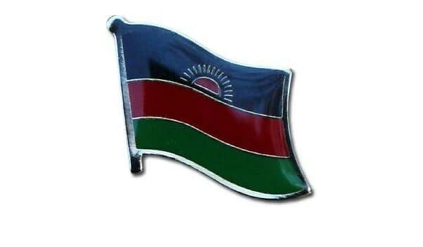 Wholesale Pack of 6 Ethiopia Country Flag Bike Hat Cap lapel Pin