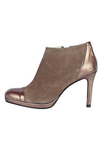 From Leather Dini Of Women Boot Taupe Ankle Patrizia wz4xfqv6n