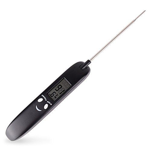 Find Bargain LINK Innovation Digital Meat Thermometer Quick Read Cooking Thermometer for Grill , Mil...