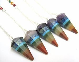 CRYSTALMIRACLE Beautiful Pendulums protective prosperity