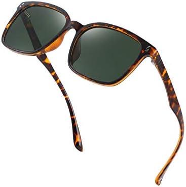 CNLO Ultralight TR90 Polarized shades,HD Polarized Lens,100% UV400 Protection Stylish Design,Men/Women